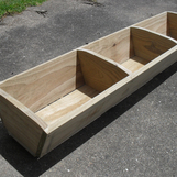 Small Bevel Planter Box